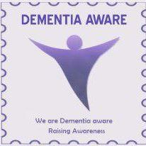 dementia aware badge