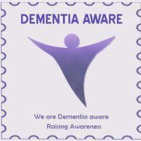 dementia aware badge