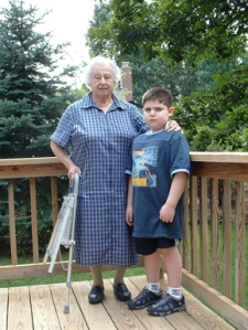 max wallack with grandma