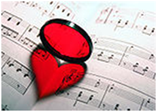 heart on sheet music