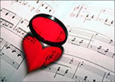 heart on sheet music