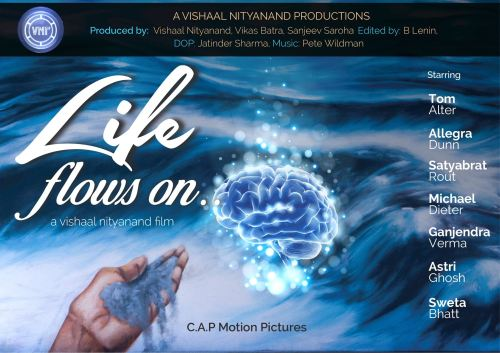 Vishaal Life flows on film poster