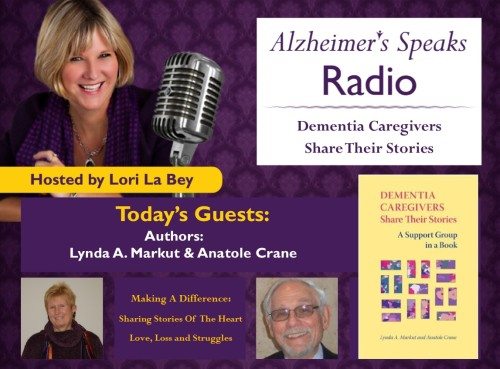 082515 ASR Lynda Markut Anatole Crane Authors of Dementia Caregiving Share their Stories