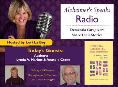 082515 ASR Lynda Markut Anatole Crane Authors of Dementia Caregiving Share their Stories