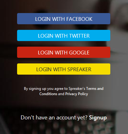 log_in_w_spreakers_various_choices_onf_how_to_register