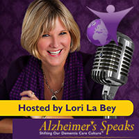Lori La Bey logo for Alive and Social