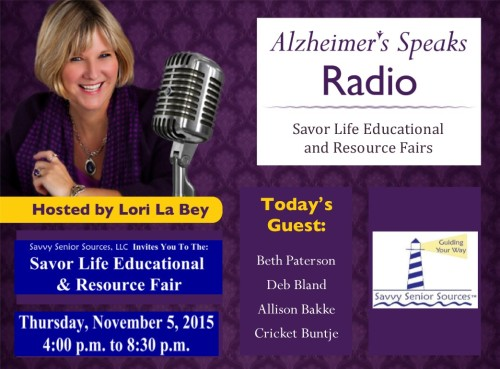 101615 ASR Savor Your life Ed Fair