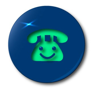 patrick talley blue button logo