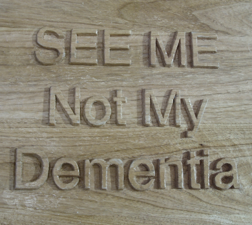 Eilon see me not my dementia carving