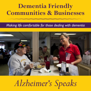 Alzheimer's Speaks Radio with Dr Jessica Zwerling.