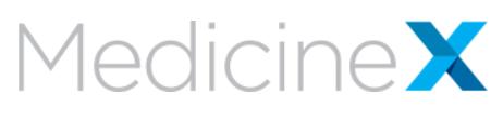 Medicine X logo
