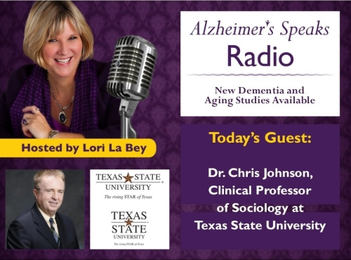 071018 ASR Dr Chris Johnson New Dementia Studies Program