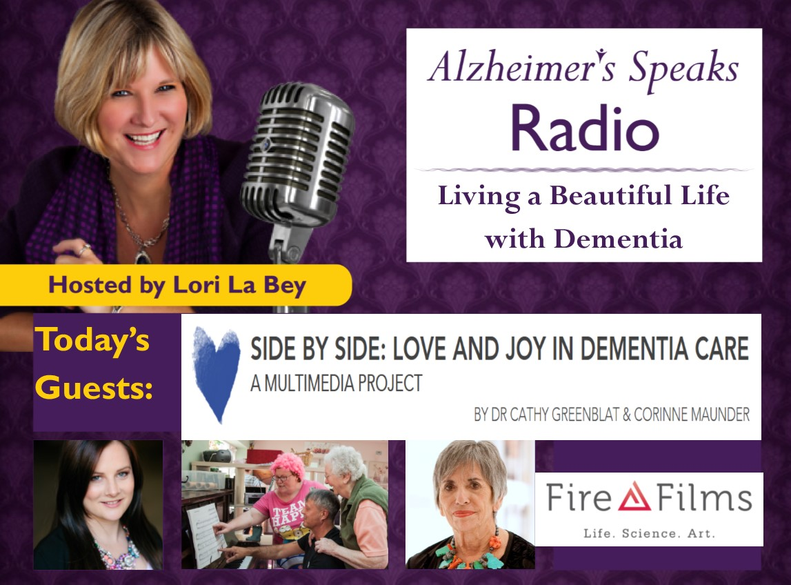 Alzheimer's Speaks Radio with Dr. Cathy Greenblat and Corinne Maunder
